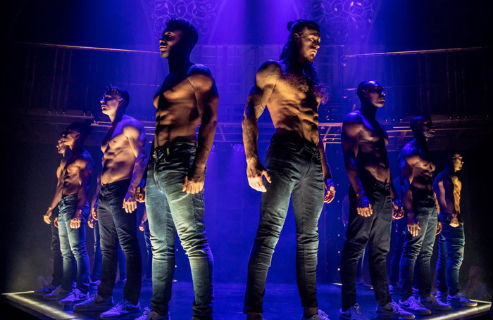 The cast of Magic Mike Live at London Hippodrome. Photo: Trevor Leighton