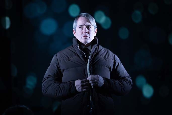 Matthew Broderick in The Starry Messenger at Wyndham's Theatre. Photo: Marc Brenner