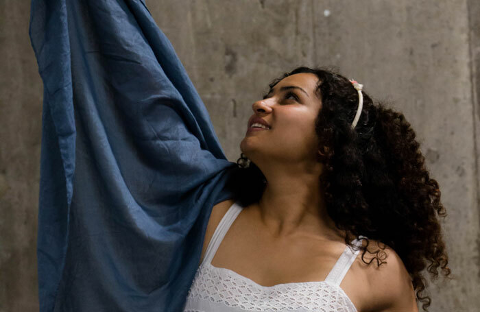 Meena Rayann in The Flies at the Bunker, London. Photo: Camille Dufrenoy
