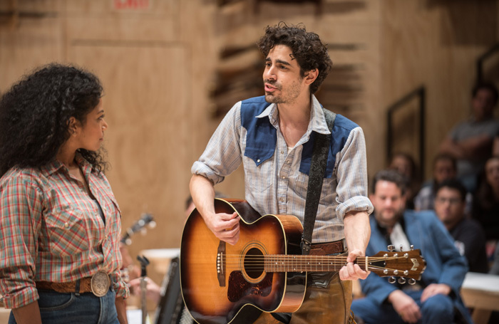 Scene from Oklahoma! at St Ann's Warehouse. New York. Photo: Teddy Wolff
