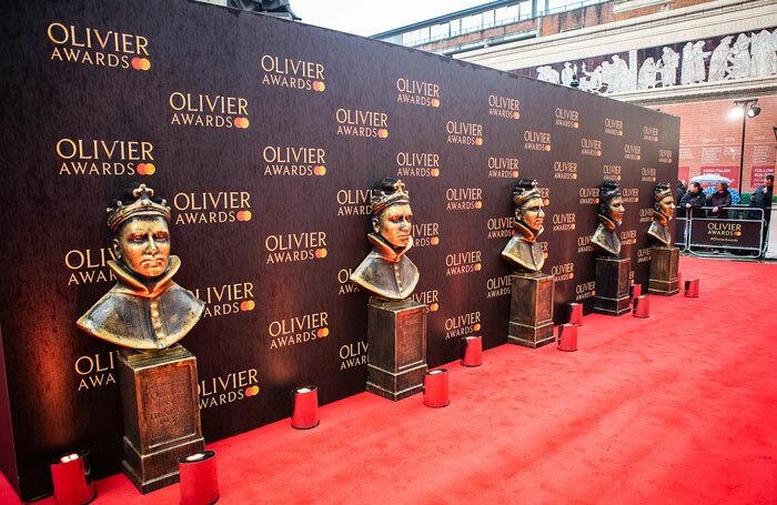 Olivier Awards red carpet. Photo: Pamela Raith