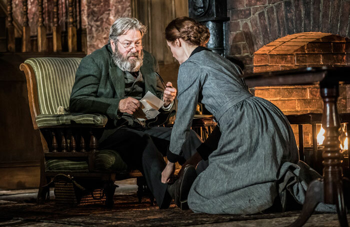 Roger Allam and Justine Mitchell in Rutherford and Son at National Theatre, London. Photo: Johan Persson