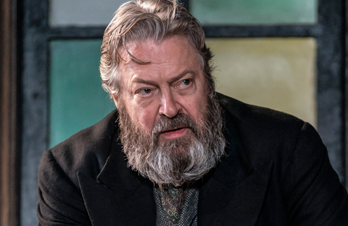 Roger Allam in Rutherford and Sons at the National Theatre. Photo: Johan Persson