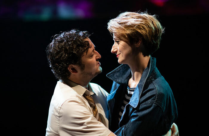 Michael Grady-Hall and Jodie McNee in Venice Preserved at Swan Theatre, Stratford-upon-Avon. Photo: Helen Maybanks