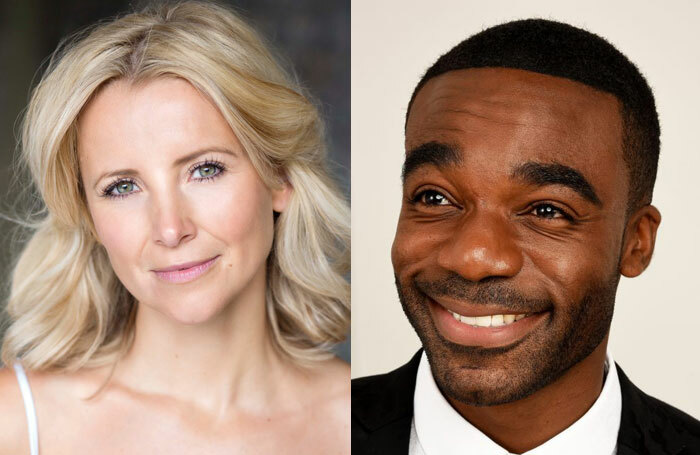 Carley Stenson and Ore Oduba, who will joins Jason Manford in the Curtains revival