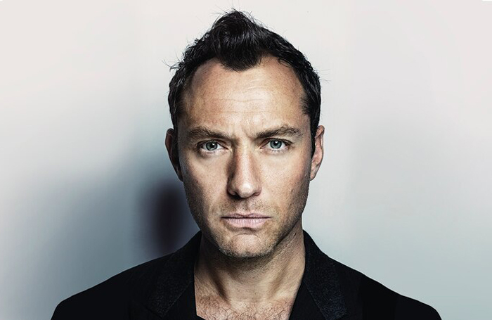 Jude Law stars in Punchdrunk's television production The Third Day. Photo: Sky