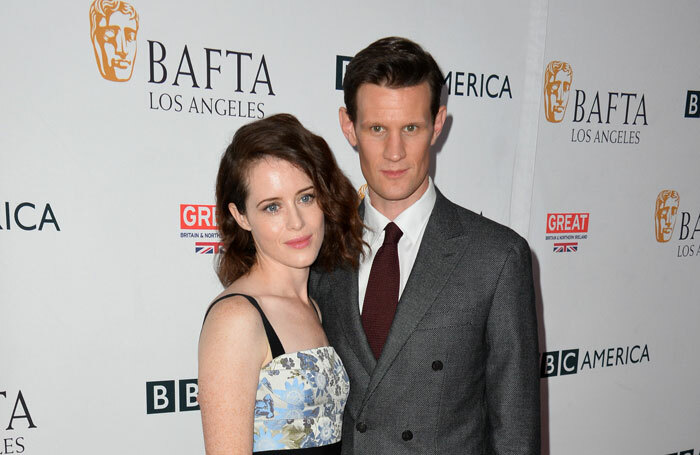 Claire Foy and Matt Smith will star opposite each other in Lungs. Photo: Jaguar PS/ Shutterstock