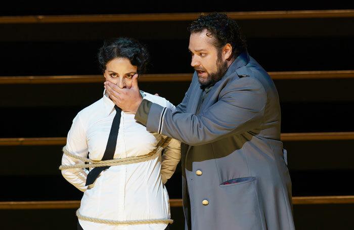 Anaik Morel and Bryan Hymel in Carmen at Royal Opera House. Photo: Bill Cooper
