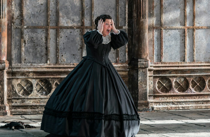Sophie Bevan in The Turn of the Screw at Garsington Opera. Photo: Johan Persson