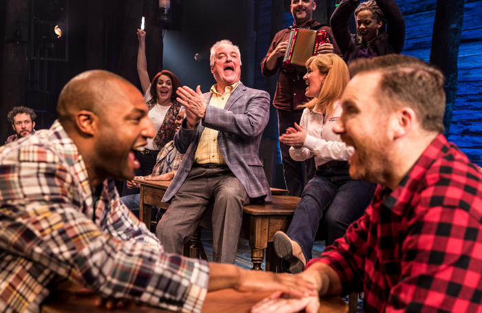 Cast of Come from Away: It is unlikely that any algorithm could have predicted the success of this show. Photo: Matthew Murphy