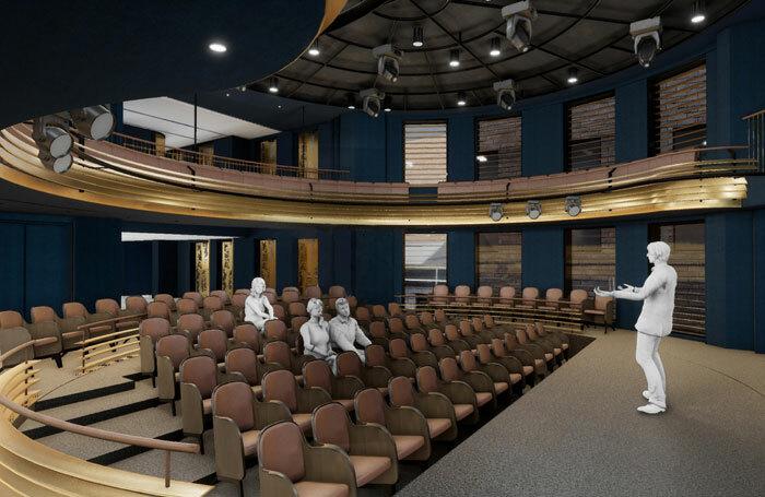 Artist's impression of the Boulevard Theatre's flexible auditorium