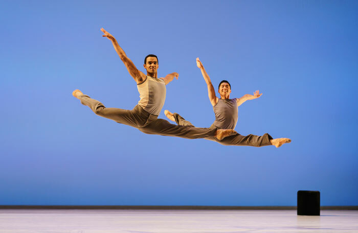 Brandon Lawrence and Tzu-Chao Chou in Lyric Pieces. Photo: Bill Cooper