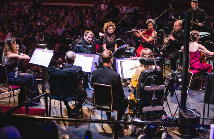 Bournemouth Symphony Orchestra Resound Ensemble. Photo: BBC Proms/Kirsten McTernan