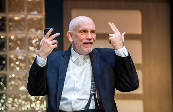 John Malkovich in Bitter Wheat at Garrick Theatre, London – review round-up