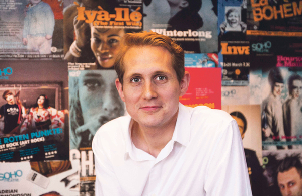 Soho Theatre creative director David Luff: 'We want our main space to be a playhouse again'