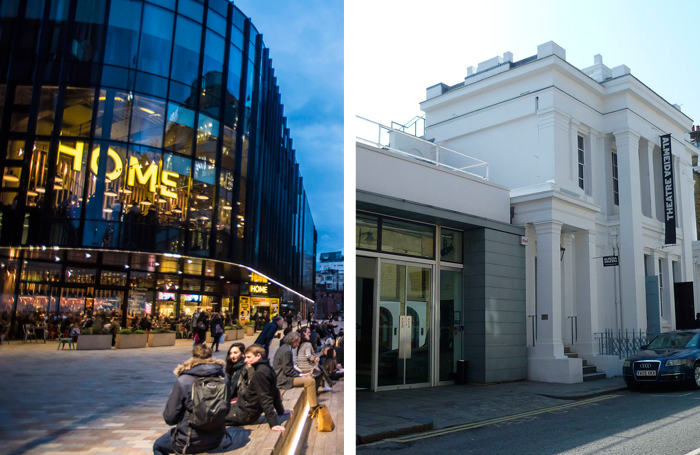 Home in Manchester and London's Almeida Theatre. Photos: Chris Payne/Philafrenzy