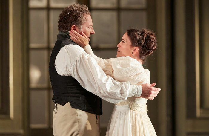 Christian Gerhaher and Joelle Harvey in Le Nozze di Figaro. Photo: Mark Douet