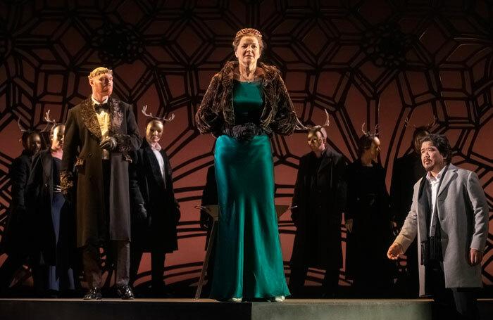The cast of Anna Bolena at Longborough Festival. Photo: Matthew Williams-Ellis.
