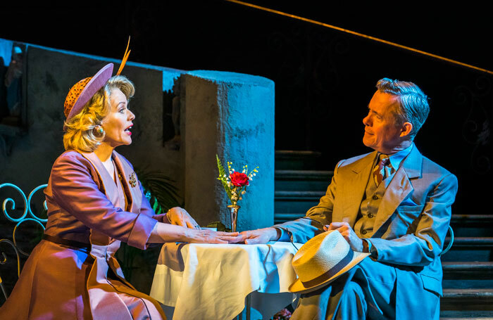 Renée Fleming and Alex Jennings in The Light in The Piazza at Royal Festival Hall. Photo: Tristram Kenton