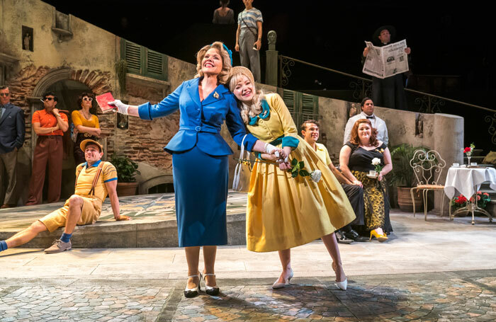 Renée Fleming and Dove Cameron in The Light in The Piazza at Royal Festival Hall. Photo: Tristram Kenton