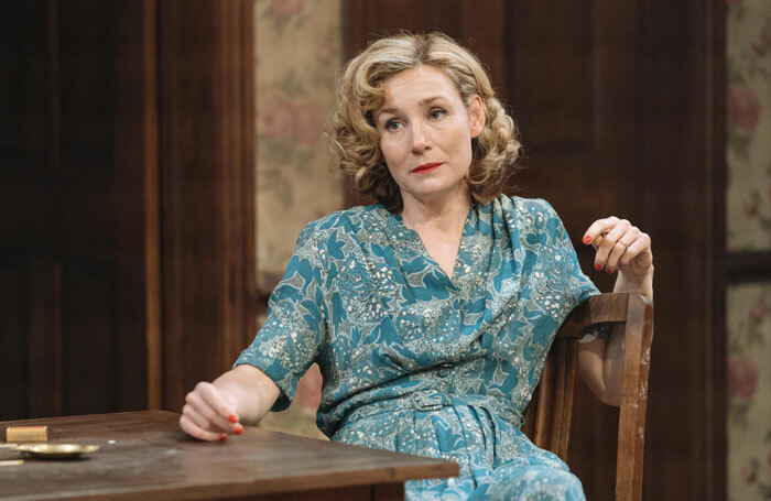Nancy Carroll in The Deep Blue Sea at Chichester Festival Theatre. Photo: Manuel Harlan