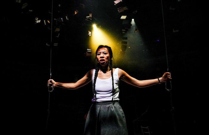 Suni La in The Strange Undoing of Prudencia Hart at New Vic Theatre, Newcastle-under-Lyme. Photo: Andrew Billington