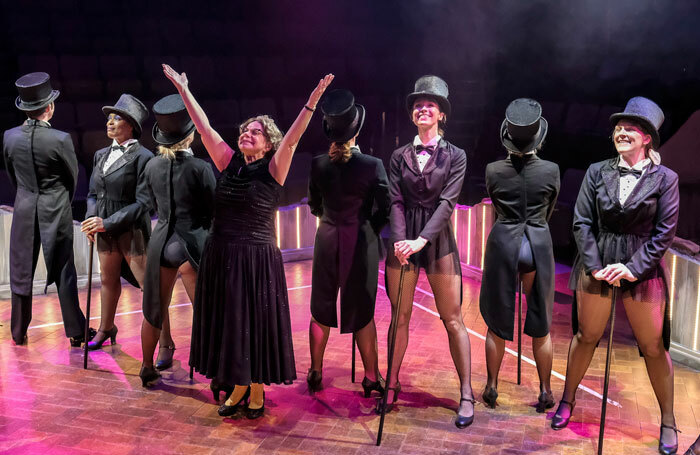 The cast of Stepping Out at Stephen Joseph Theatre, Scarborough