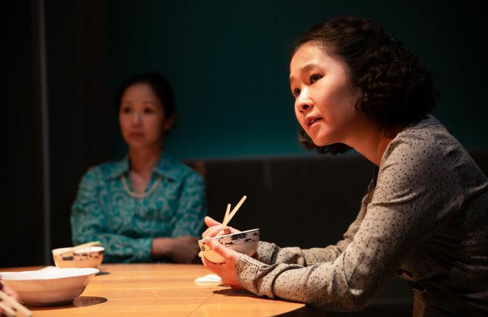 Linh Dan Pham and Anna Nguyen in Summer Rolls at Park Theatre, London.  Photo: Danté Kim