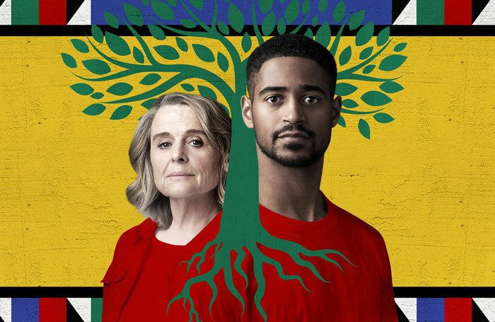Promotional image for Tree, starring Sinéad Cusack and Alfred Enoch. Photo: Marc Brenner
