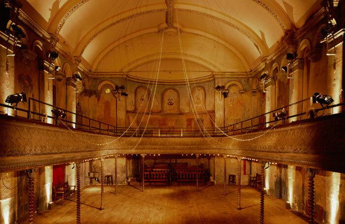 The refurbished interior of WIlton's Music Hall. Photo: Helene Binet