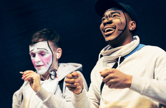Mountview students performing in Boy