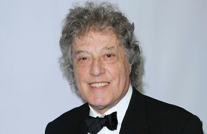Tom Stoppard at the 2013 Writers Guild Awards in Los Angeles. Photo: S Bukley/Shutterstock