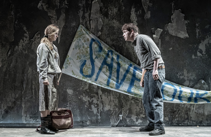 """The Donmar's website advises that its latest show Europe includes """"war, sexual assault and violence towards migrants"""". Photo: Marc Brenner"""