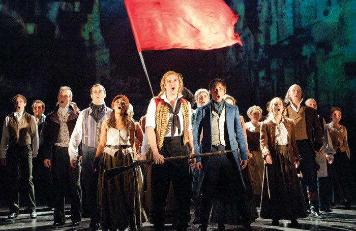 A scene from long-running show Les Miserables. Photo: Tristram Kenton