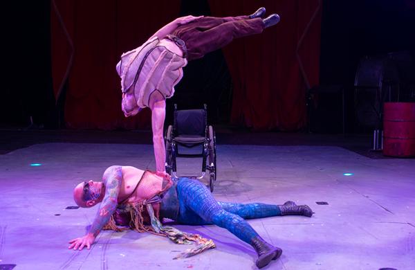 Cirque Berserk!: The global circus family thrilling Edinburgh crowds