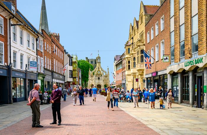 Chichester high street. Photo: Shutterstock