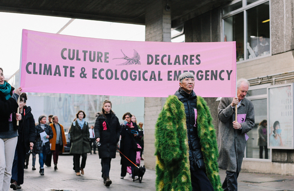 More than 200 arts organisations join Culture Declares Emergency movement