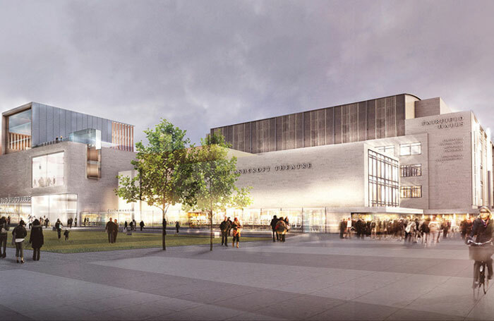 Designs for the redeveloped Fairfield Halls. Photo: Rick Mather Architects