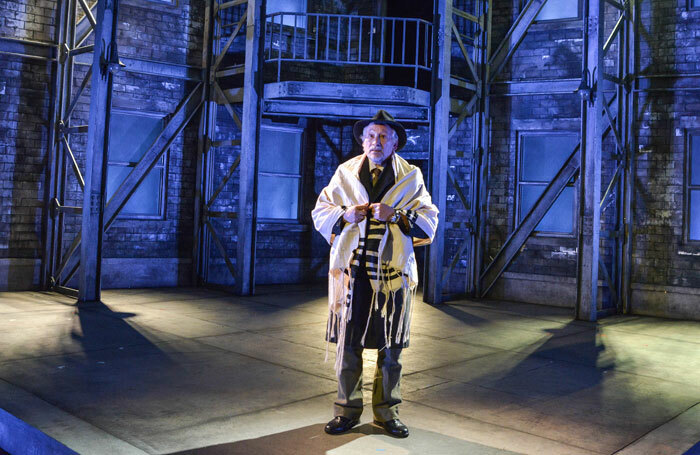 Linal Haft in The Merchant of Venice at Stafford Castle
