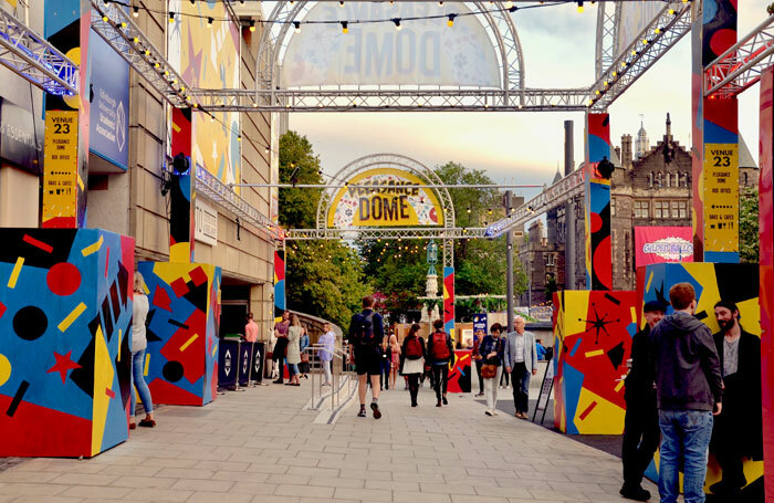 Pleasance Dome during the Edinburgh Festival Fringe 2018. Photo: Lou Armor/Shutterstock