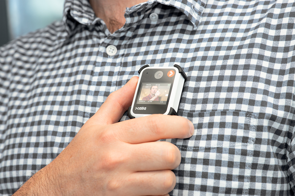 Ushers at West End theatres have trialled wearing body cameras. Photo: Calla