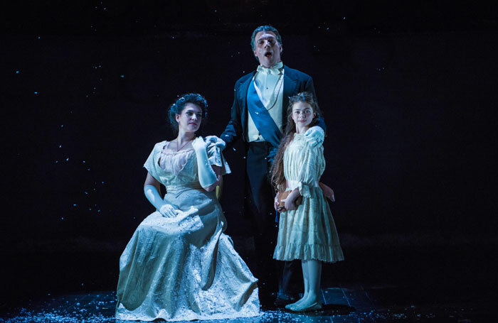 Scene from Eugene Onegin at Buxton Opera House. Photo:  Genevieve Girling