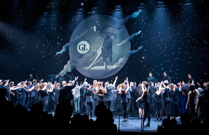To Gillie With Love at London's Gillian Lynne Theatre. Photo: David Jensen