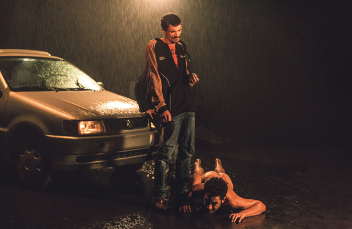 La Reprise – Histories du Théâtre (I), directed by Milo Rau. Photo: Michiel Devijver