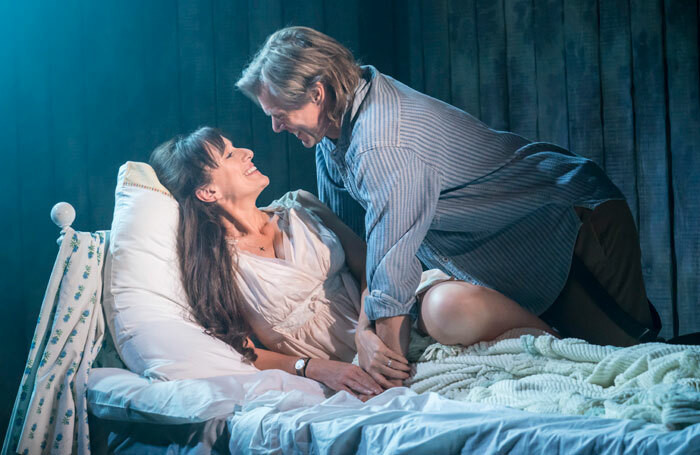 Jenna Russell and Edward Baker Duly in The Bridges of Madison County at Menier Chocolate Factory. Photo: Johan Persson