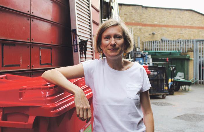 Joni Carter is resident company manager at London's Royal Court. Photo: Anoushka Warden