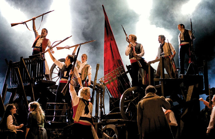 A scene from the touring production of Les Miserables. Photo: Michael Le Poer Trench/Cameron Mackintosh