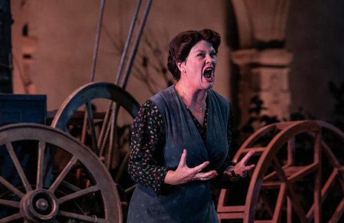 Yvonne Howard in L'Arlesiana at Opera Holland Park, London. Photo: Ali Wright