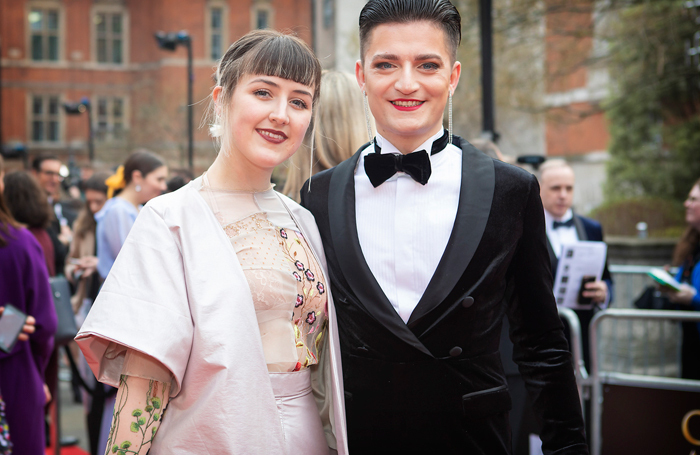 Lucy Moss and Toby Marlow
