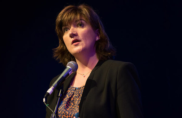 Nicky Morgan appointed culture secretary in Boris Johnson's cabinet